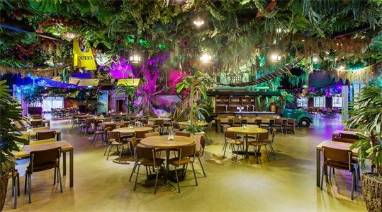 Hele Jungle restaurant