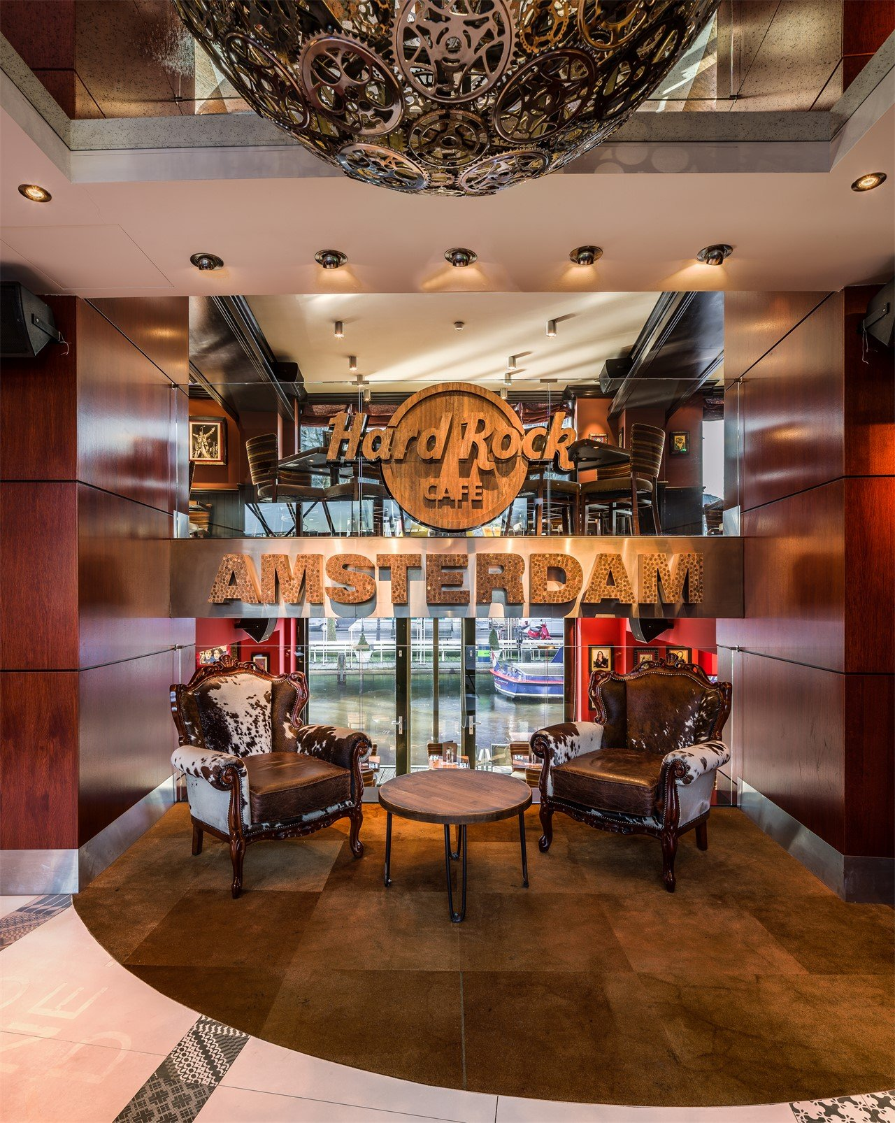 Hard Rock Cafe Amsterdam - Entrance