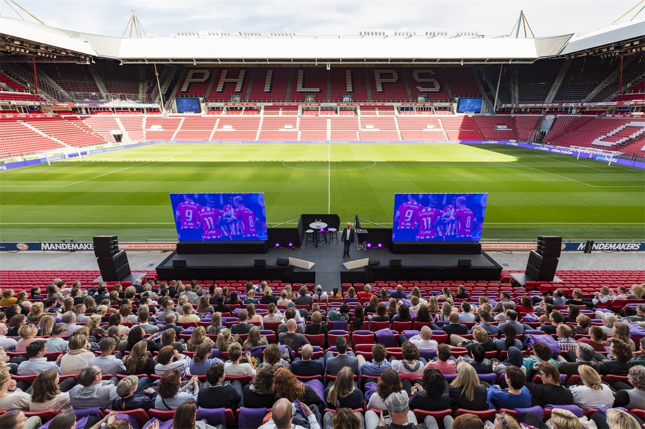 Philips Stadion - Presentatie in het Philips Stadion