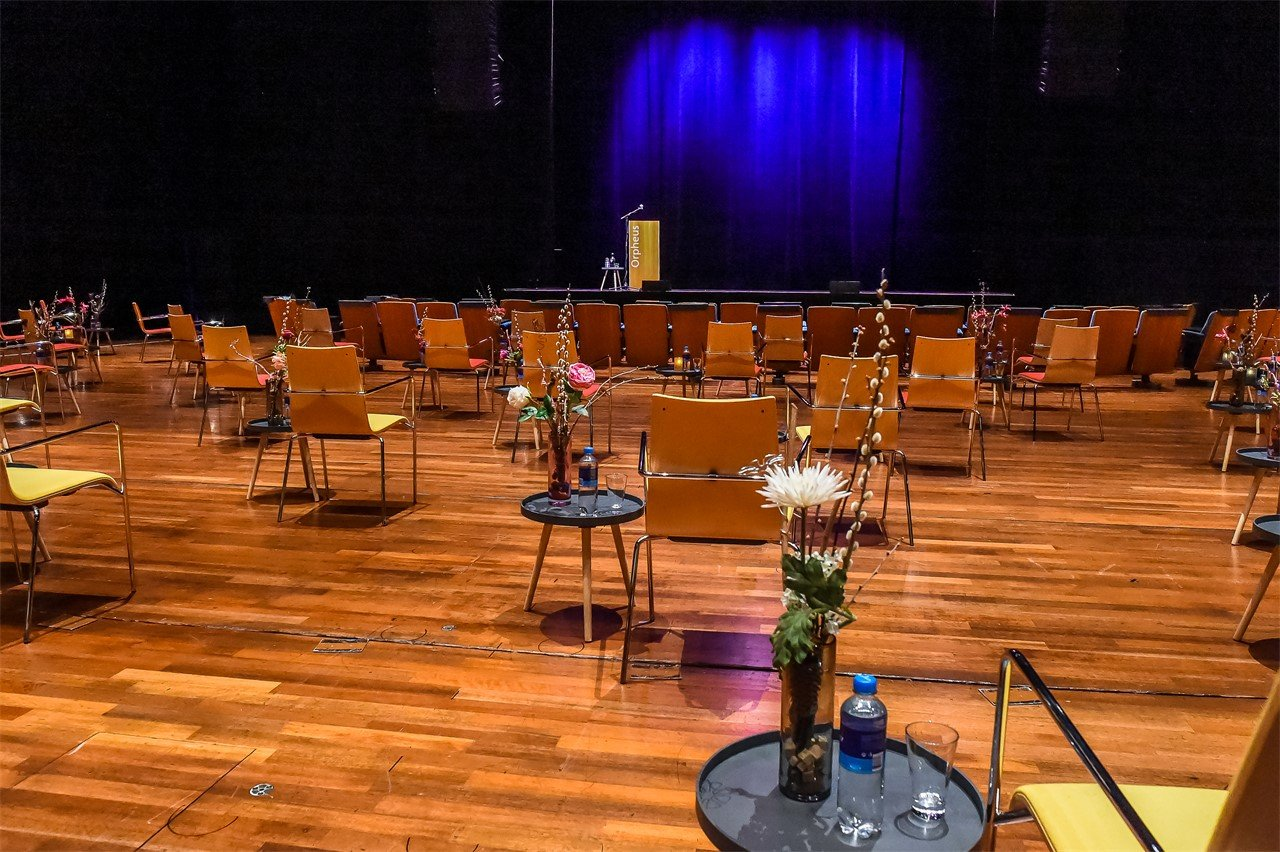 Congrescentrum Orpheus - Hybride events op 1,5 m
