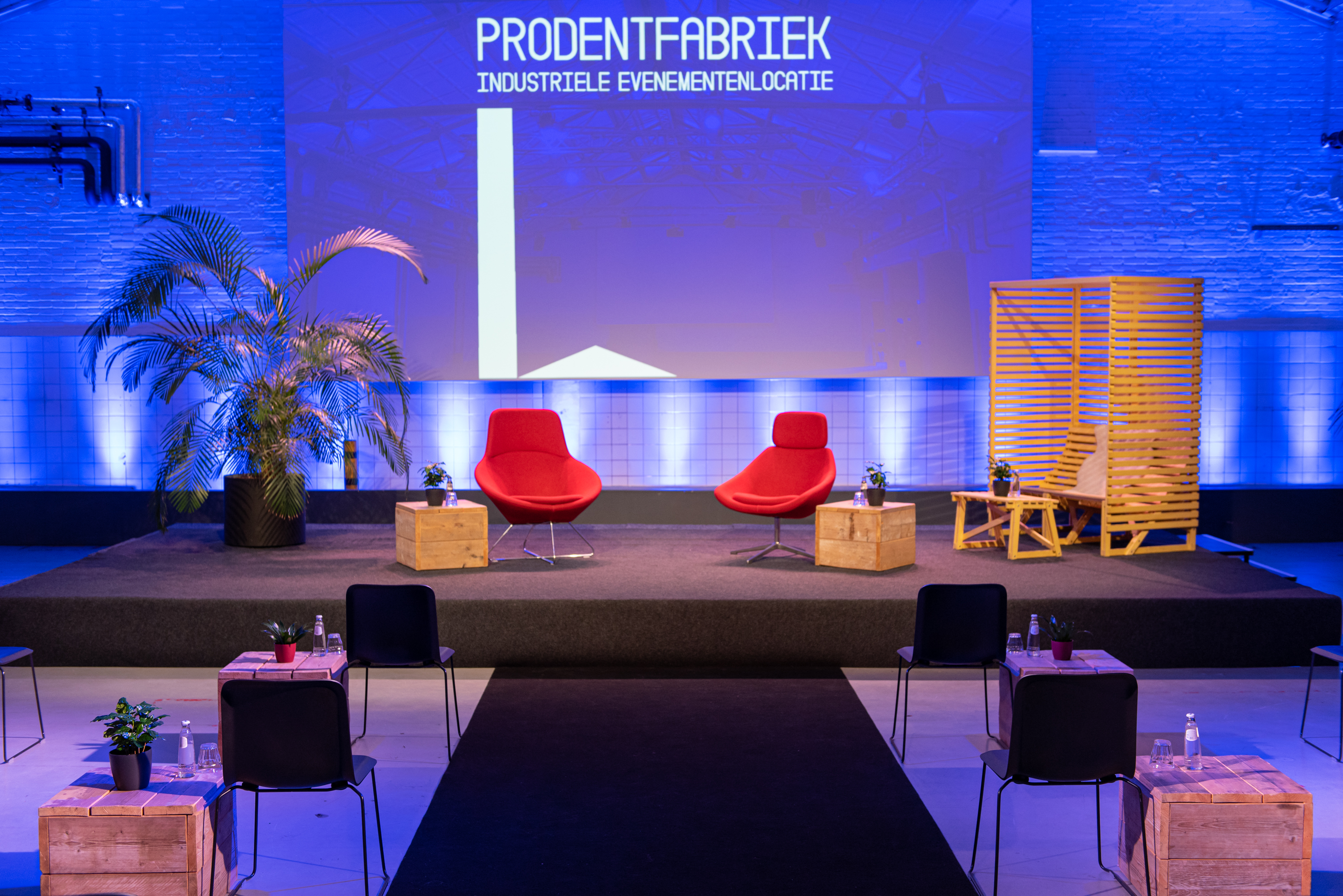 De Prodentfabriek: Industrieel Studio en Evenementencomplex