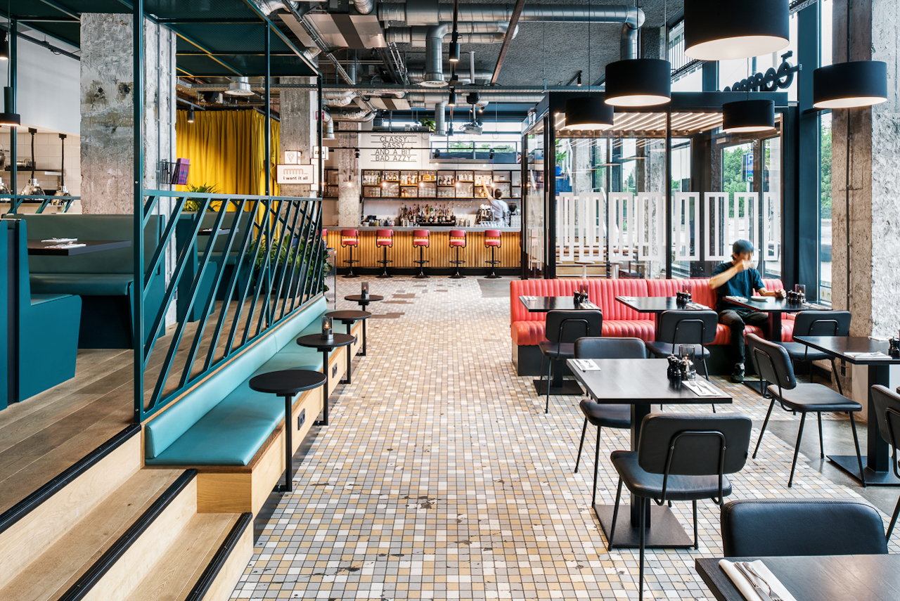 The Student Hotel Rotterdam - Zaal Restaurant The Commons